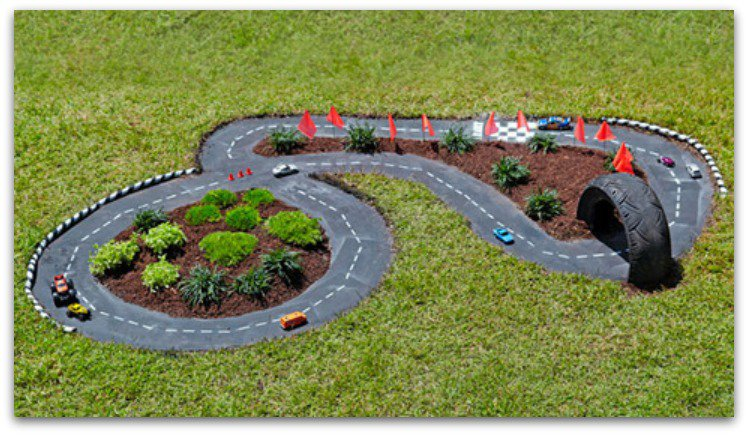 diy-backyard-race-track