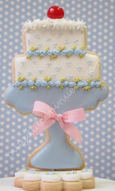 casa da cris biscoito glaçado aniversário
