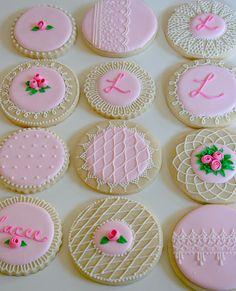 casa da cris biscoito glaçado cor de rosa