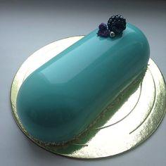 casa da cris bolo de vidro azul