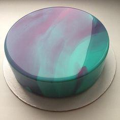 casa da cris bolo de vidro verde azulado