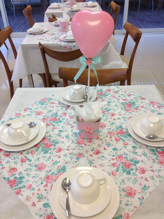 casa da cris chá de bebê mesa