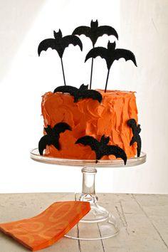 casa da cris halloween bolo morcego