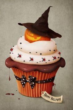 casa da cris halloween cupcakes