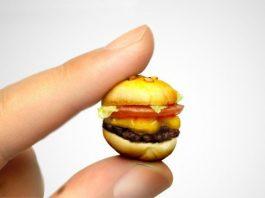 Hamburger miniatura