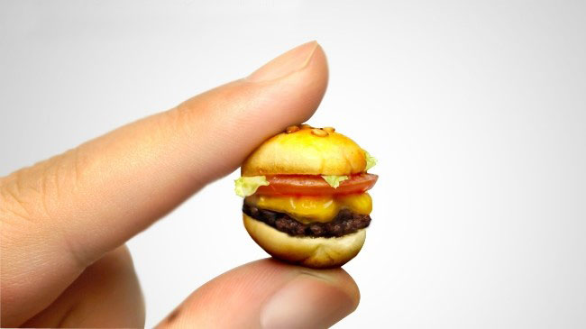 Hamburger miniatura