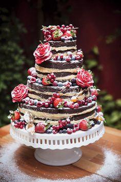 casa da cris naked cake flores e frutas