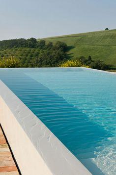 casa da cris piscina borda infinita