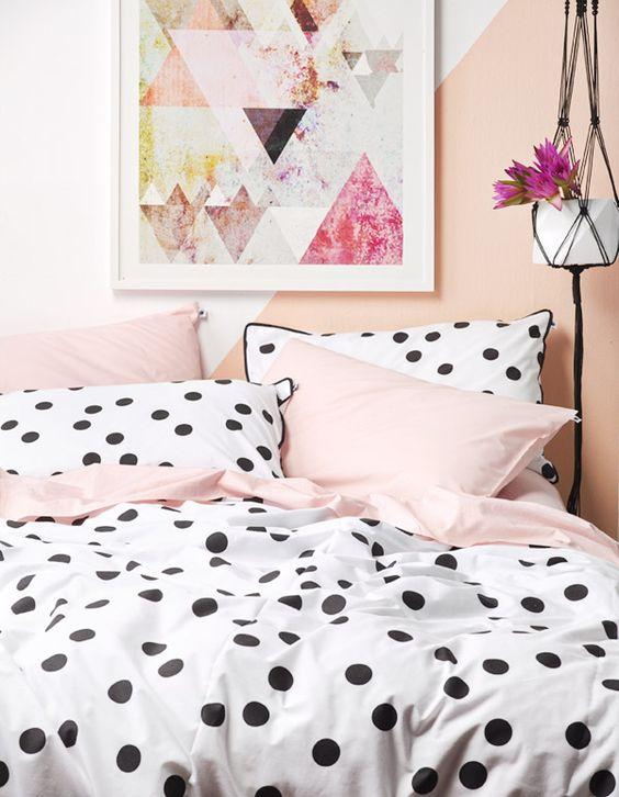 bolinhas-na-decoracao-casa-da-cris-cama